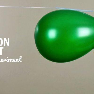 Balloon Rocket Science Experiment – A Balloon that Flies like a Rocket