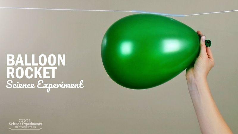 Balloon Rocket Science Experiment