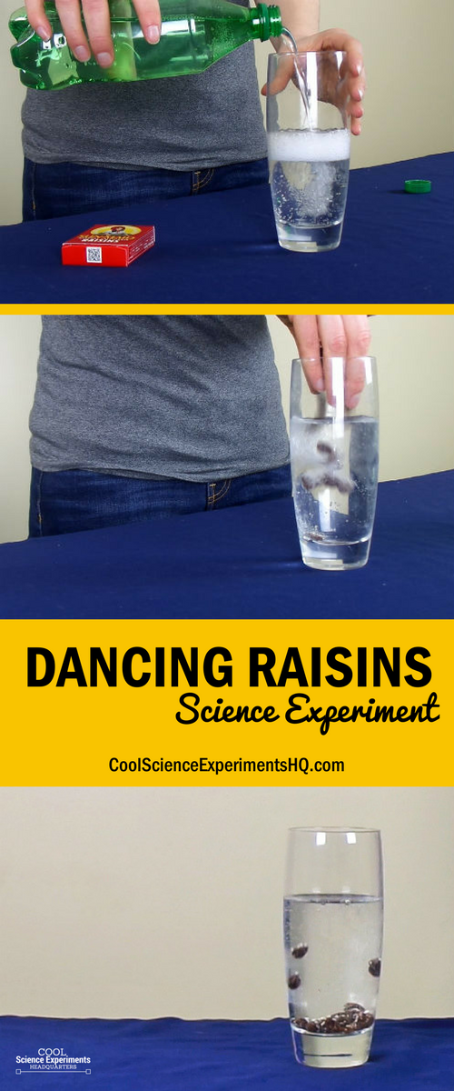 Dancing Raisins Experiment Steps