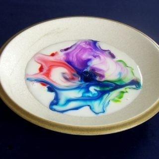 Magic Rainbow Milk Science Experiment