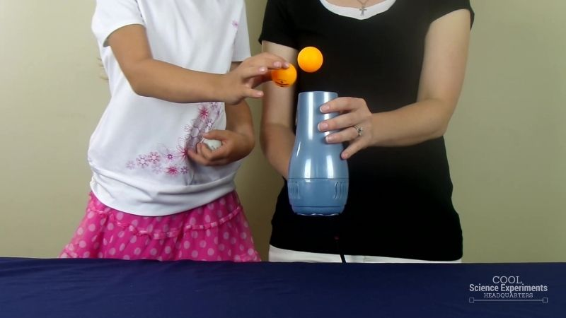 Floating Ping Pong Ball Science Experiment