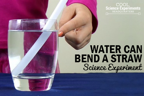 Can Water Bend a Straw Experiment