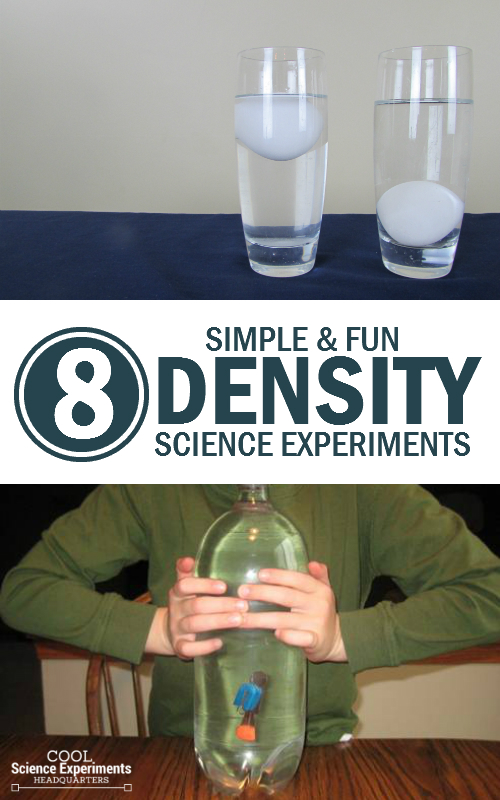 Simple Experiments to Learn about Density