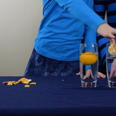 Why Does the Heavier Orange Float Science Experiment