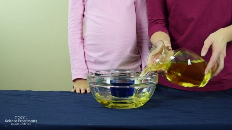 Color Changing Water Science Experiment