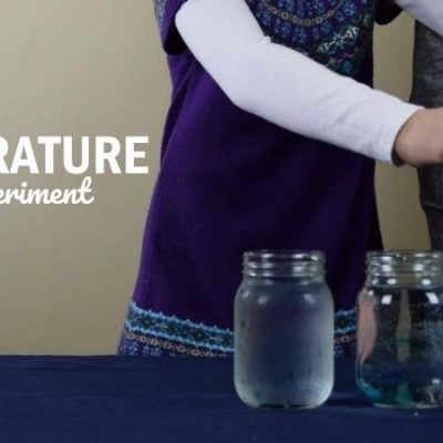 Water Temperature Science Experiment