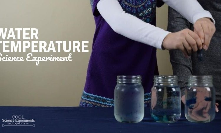 Water Temperature Science Experiment