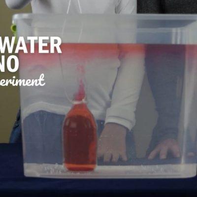 Underwater Volcano Science Experiment