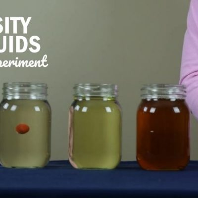 Viscosity of Liquids Science Experiment
