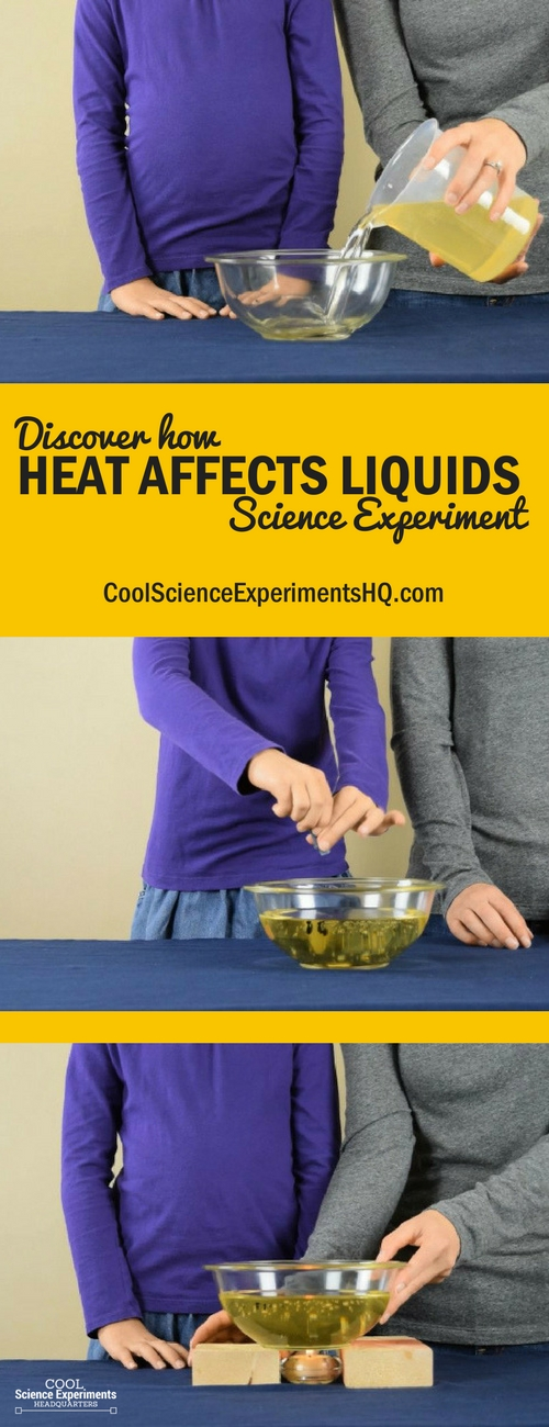 How Heat Impacts Liquids Science Experiment Steps