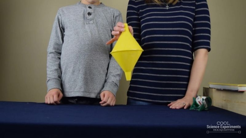 Rolling Uphill Science Experiment
