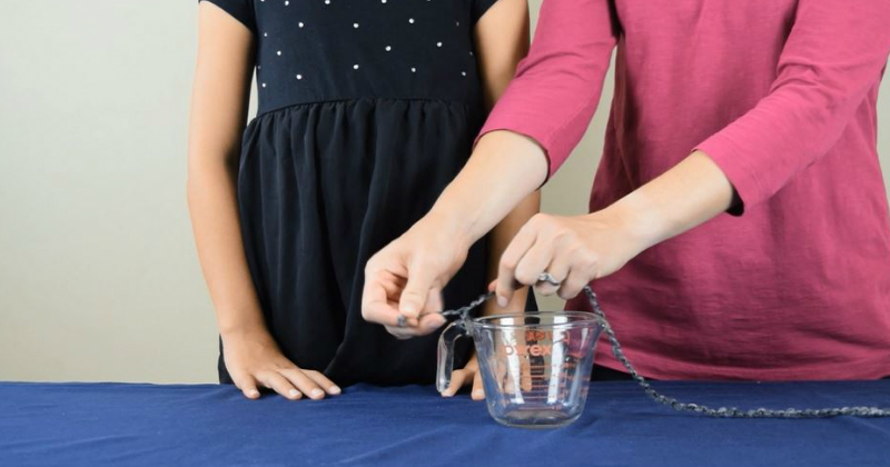 Pouring Water Experiment - Step 1
