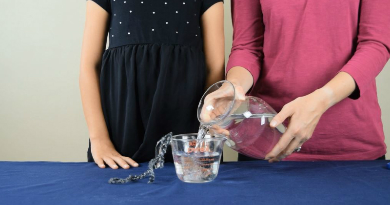 Pouring Water Experiment - Step 2